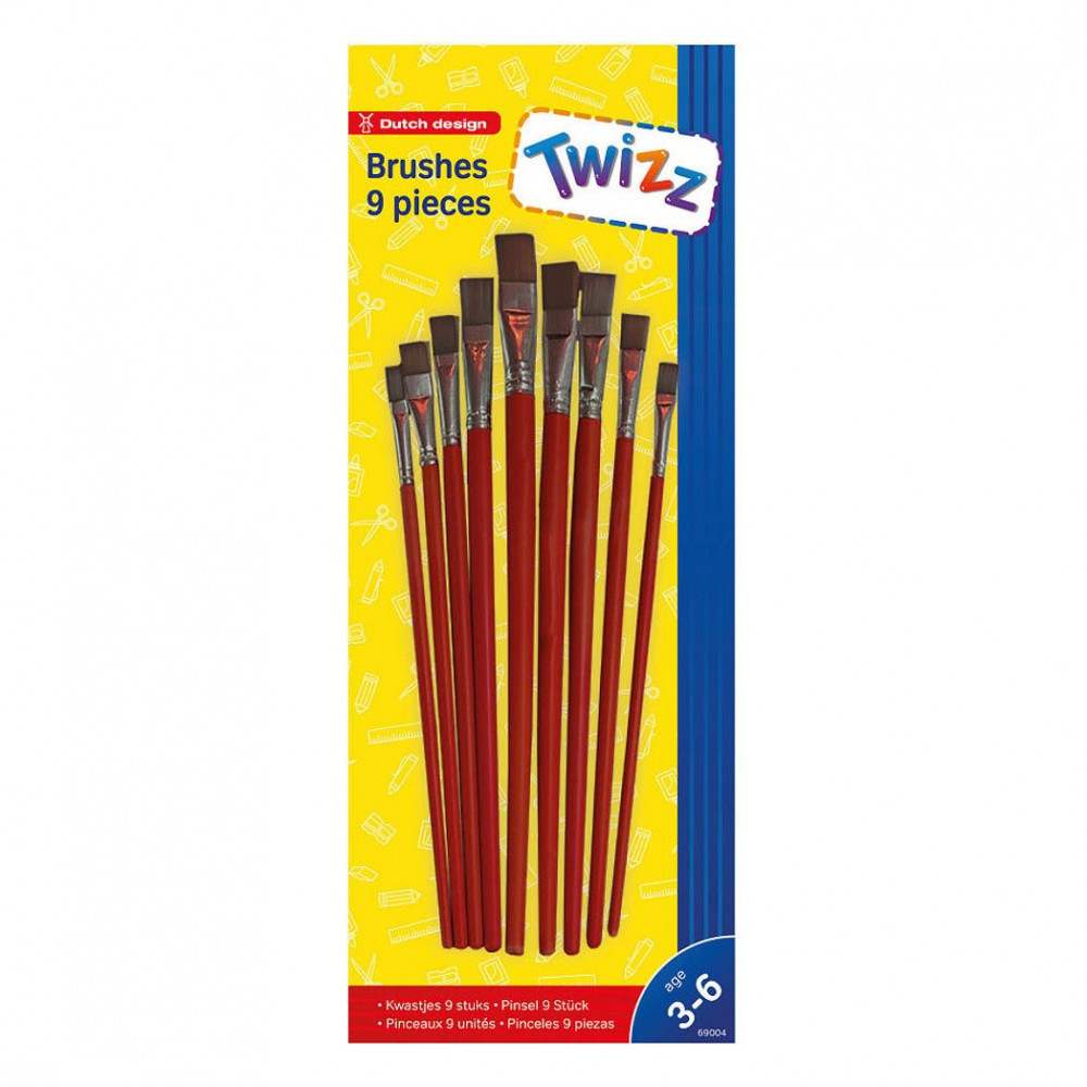 Twizz Kwastjes, 9st.