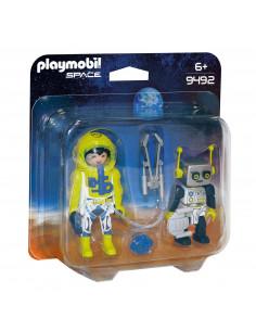 Playmobil 9492 DuoPack Astronaut en Robot
