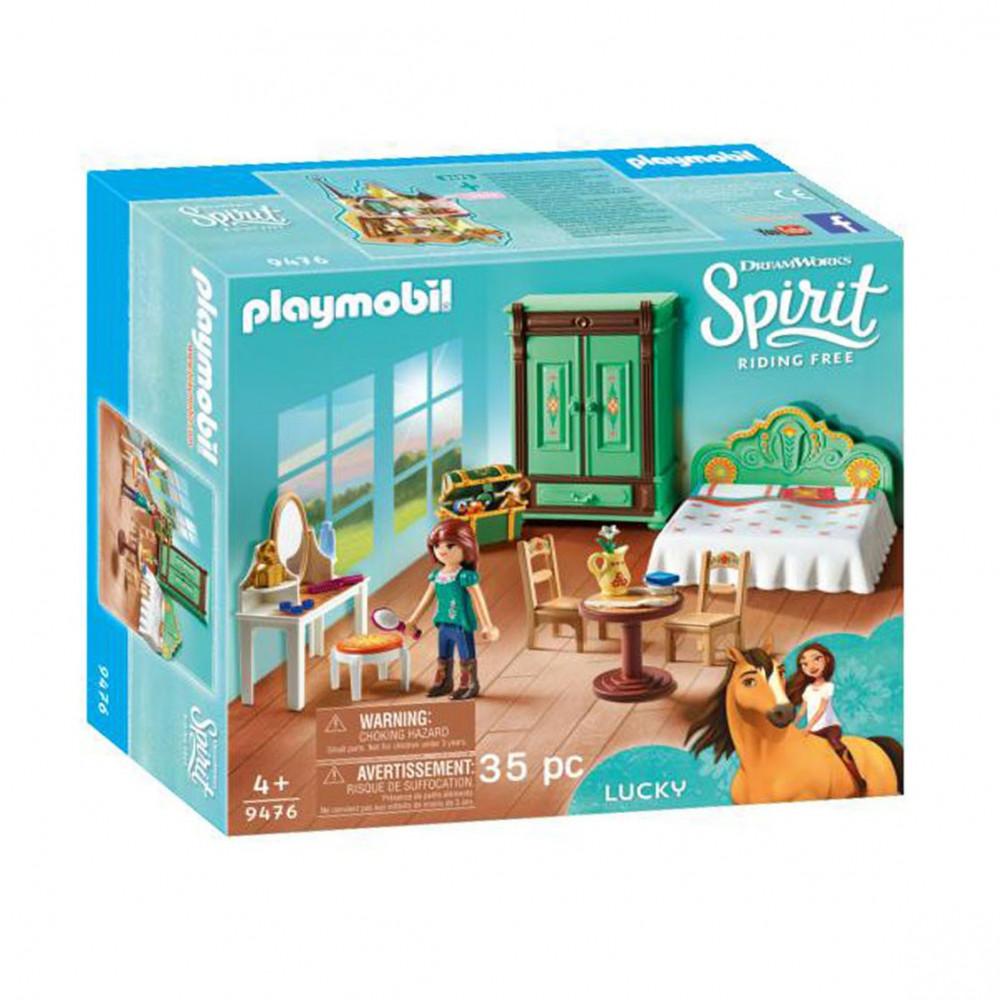 playmobil spirit 9476 luckys slaapkamer