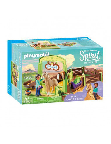 Playmobil Spirit 9479 Pru & Chica...