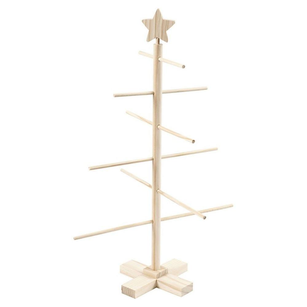 Houten Kinder Kerstboom