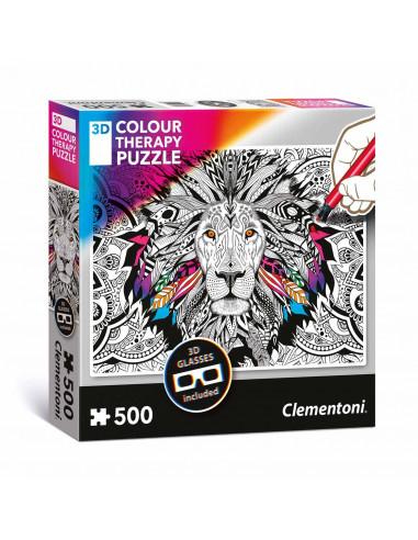 Clementoni Kleur je eigen 3D Puzzel -...