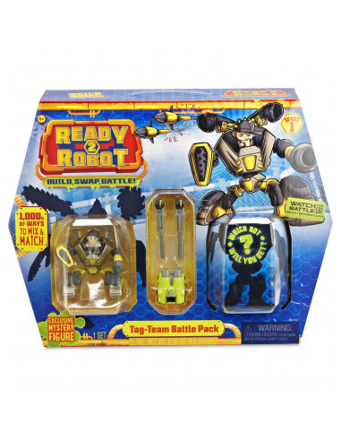 Ready2Robot Battle Pack - Tag Team