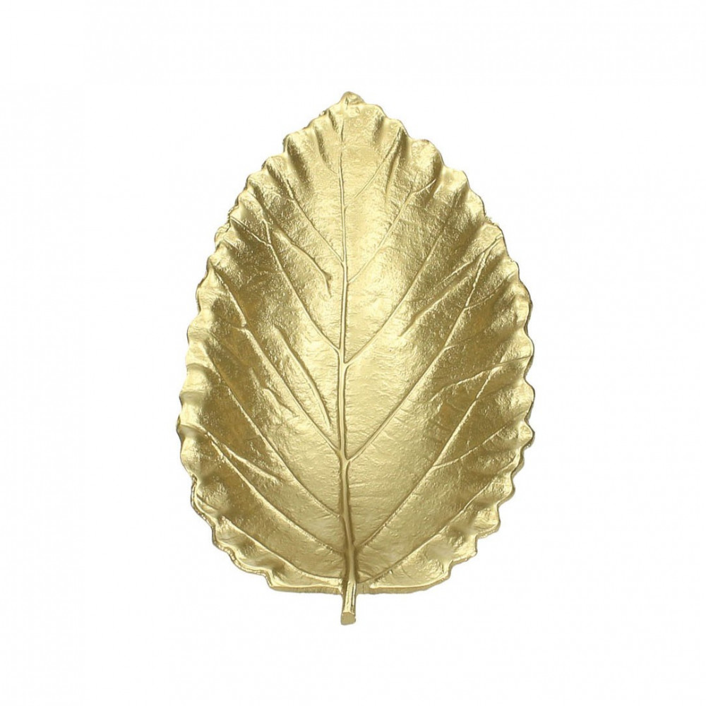 Kom Gouden Blad, 27cm