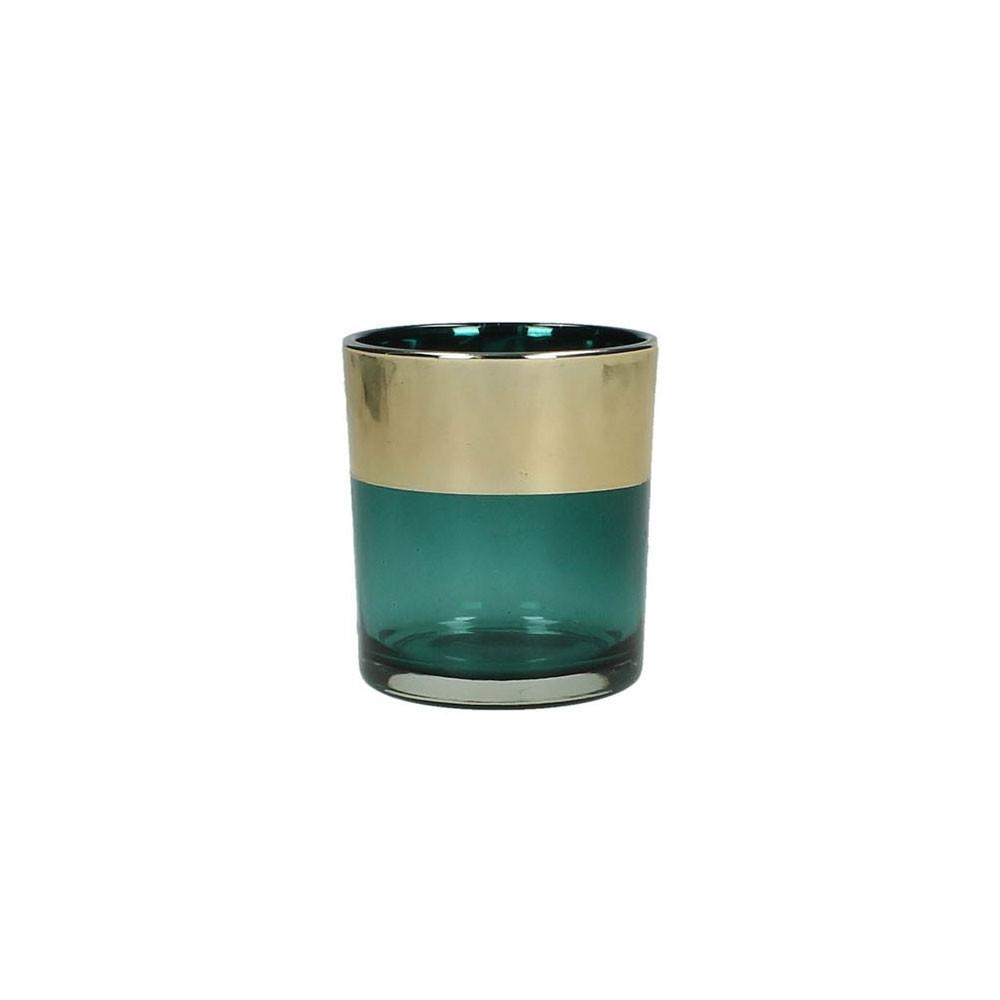 Waxinelichthouder Groen, 8cm