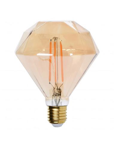 LED Lamp Vlakke Diamant Edison