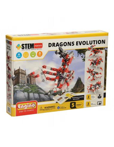 Engino STEM Heroes - Draken Evolutie