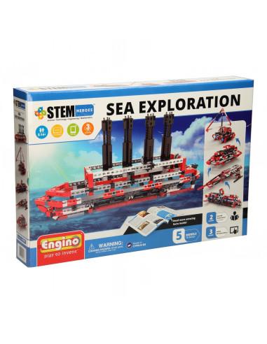 Engino STEM Heroes - Zeeonderzoek