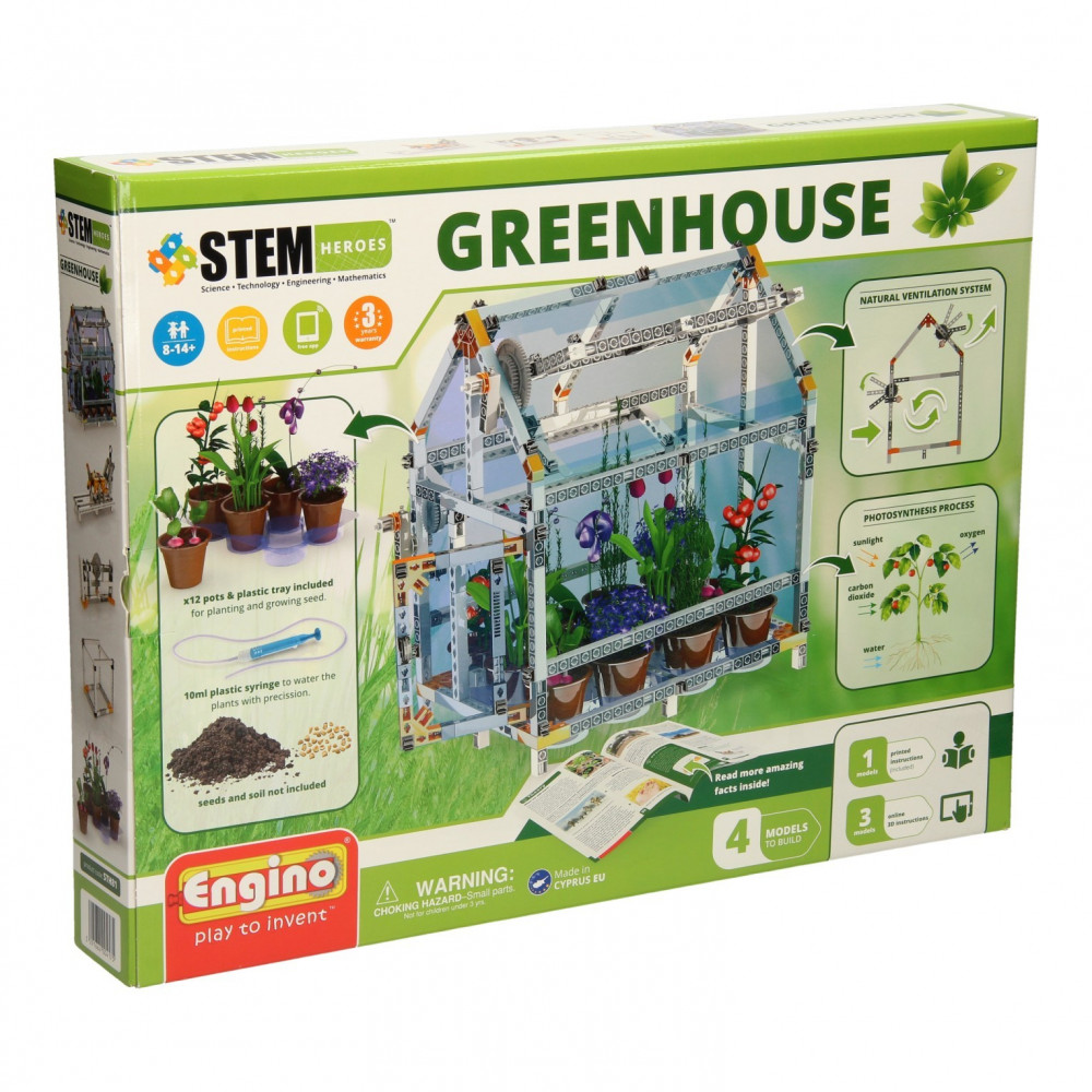 Engino STEM Heroes - Greenhouse