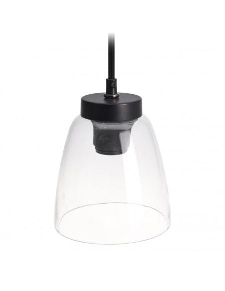 Hanglamp Glas Taps Model, 15cm