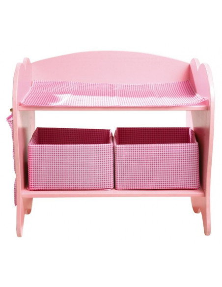 Base Toys houten poppen commode