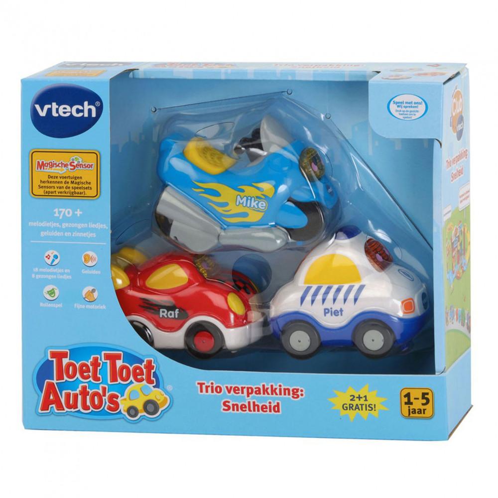 VTech Toet Toet Auto's - Trio Verpakking Politie