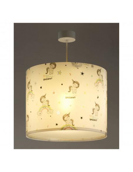 Dalber Hanglamp Eenhoorns, 25cm