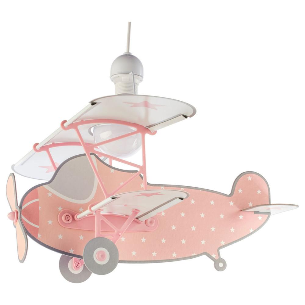 Dalber Hanglamp Sterren Vliegtuig Roze, 50cm