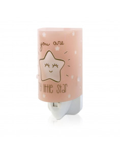 Dalber Nachtlamp Little Star Glow in the Dark Zalmroze