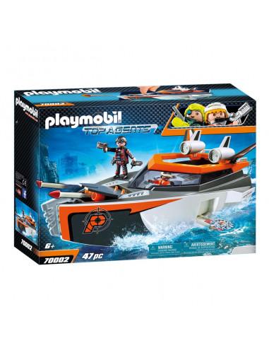 Playmobil 70002 Spy Team Turboschip