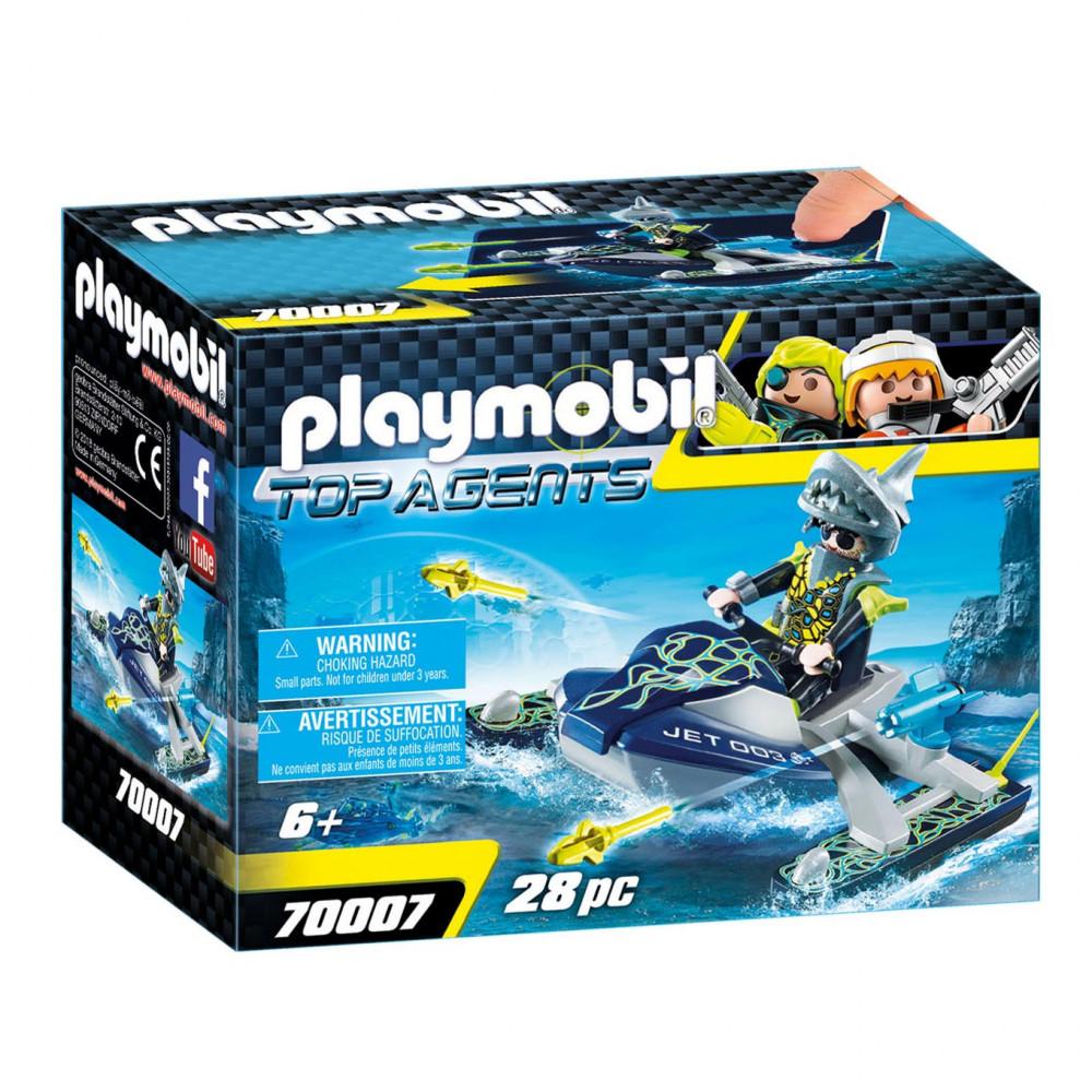 Playmobil 70007 Team S.H.A.R.K. Raketscooter
