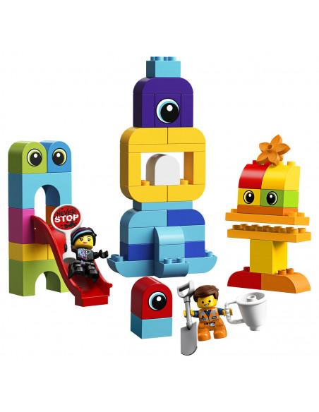 LEGO DUPLO 10895 Visite voor Emmet en Lucy van de DUPLO Plan