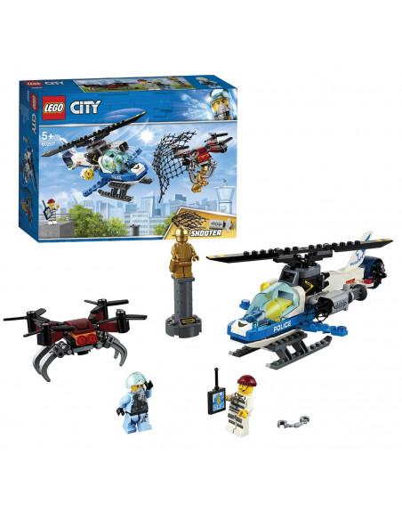 LEGO City 60207 Luchtpolitie Drone-achtervolging