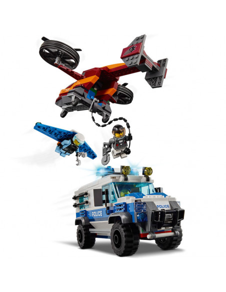 LEGO City 60209 Luchtpolitie Diamantroof