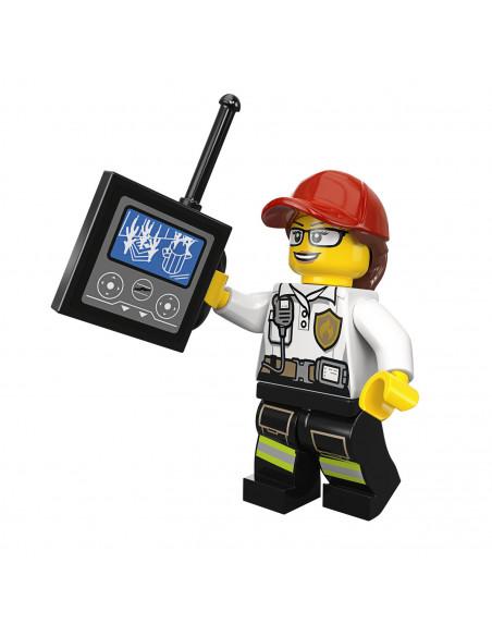 LEGO City 60215 Brandweerkazerne BT