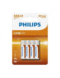 Philips Batterij R3 AAA Long Life
