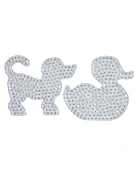 Hama Strijkkralenbord Maxi - Hond en Eend