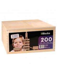 BBlocks Houten Kist 200 delig