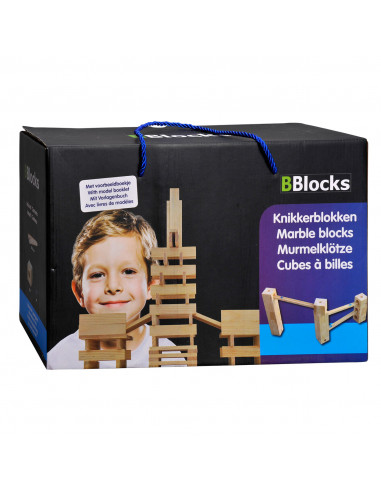 BBlocks Houten Knikkerbaan Blokken