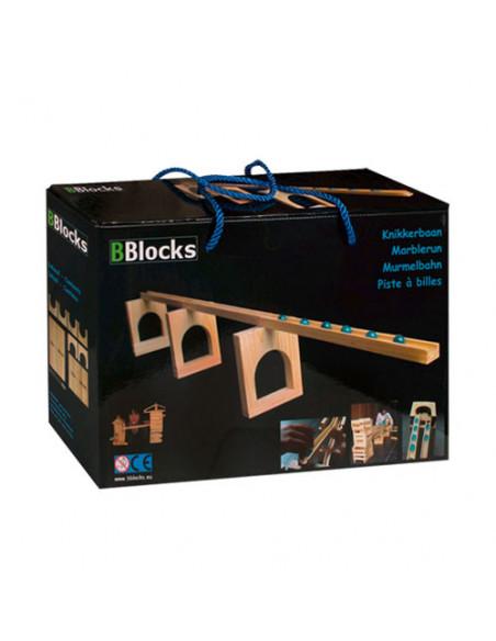 BBlocks Houten Knikkerbaan 36 delig