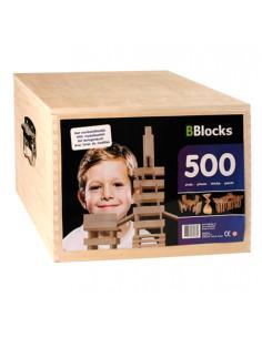 BBlocks Houten Kist 500 delig