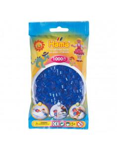 Hama Strijkkralen - Blauw Neon (036), 1000st.