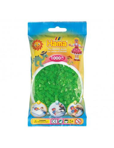 Hama Strijkkralen - Groen Neon (036),...