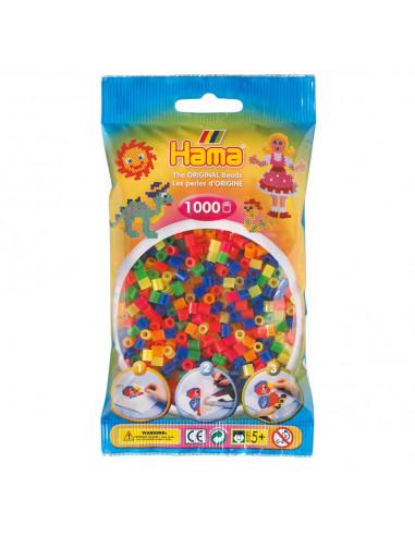 Hama Strijkkralenmix 1 - Neon (051),...