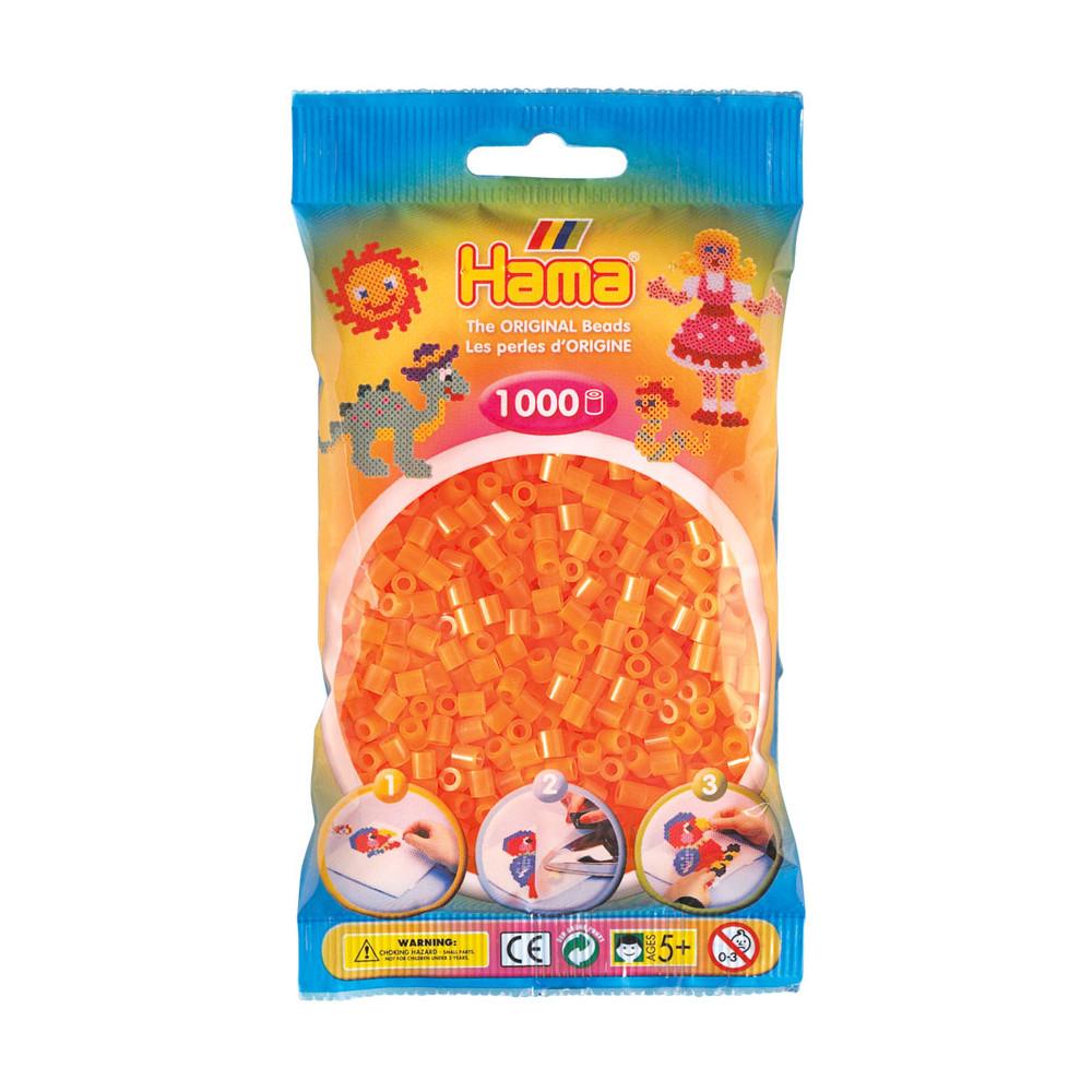 Hama Strijkkralen - Oranje Neon (038), 1000st.