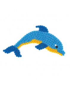 Hama Strijkkralenbordje - Dolfijn