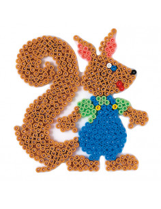 Hama Strijkkralenbordje - Eekhoorn
