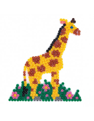 Hama Strijkkralenbordje - Giraffe