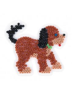 Hama Strijkkralenbordje - Hond