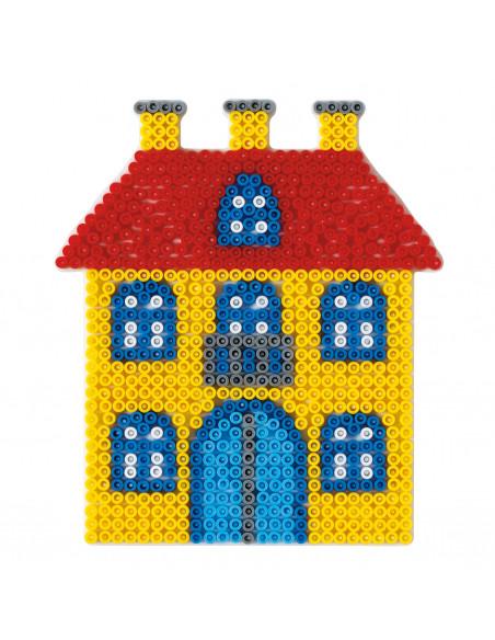 Hama Strijkkralenbordje - Huis