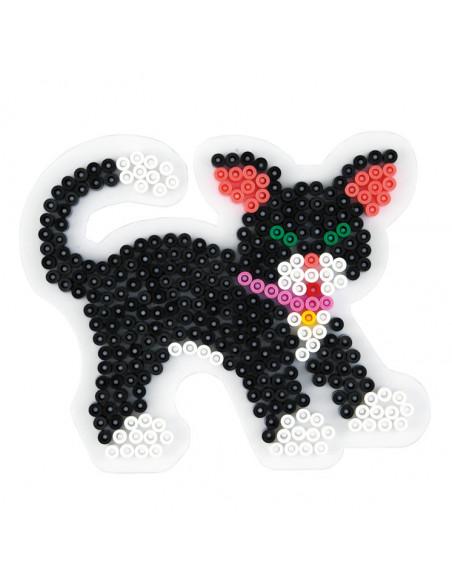 Hama Strijkkralenbordje - Kat