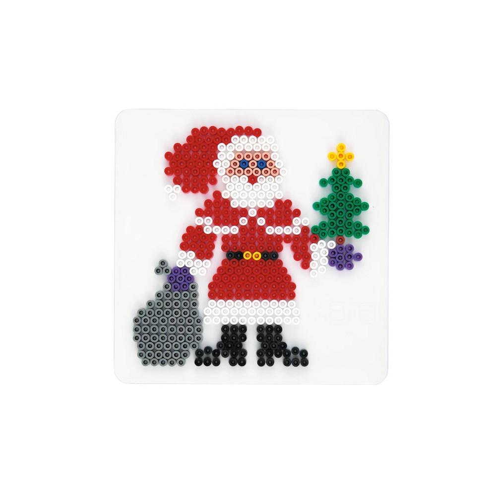 Hama Strijkkralenbordje - Kerstman