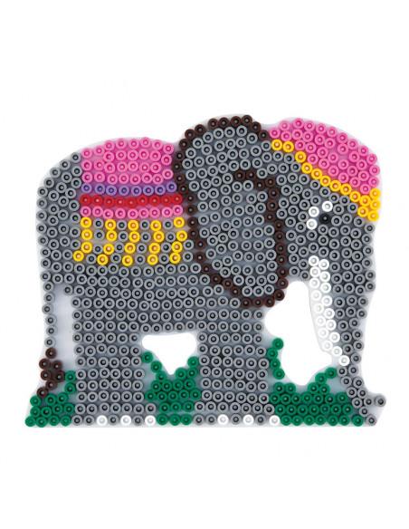 Hama Strijkkralenbordje - Olifant