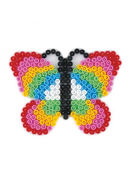Hama Strijkkralenbordje - Vlinder