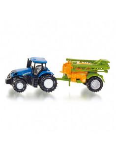 Siku Tractor met Veldspuit