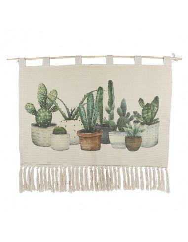 Wanddecoratie Carpet 'Cactus'