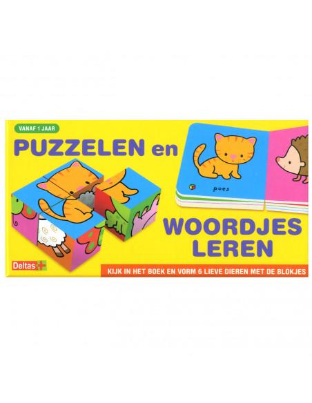 Puzzelen en woordjes leren (vanaf 1 jaar)