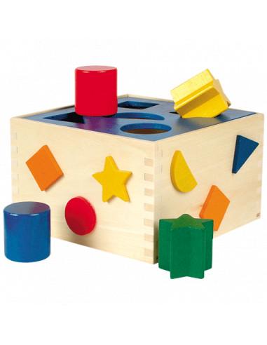 Houten Sorteerbox