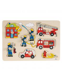 Noppenpuzzel Brandweer