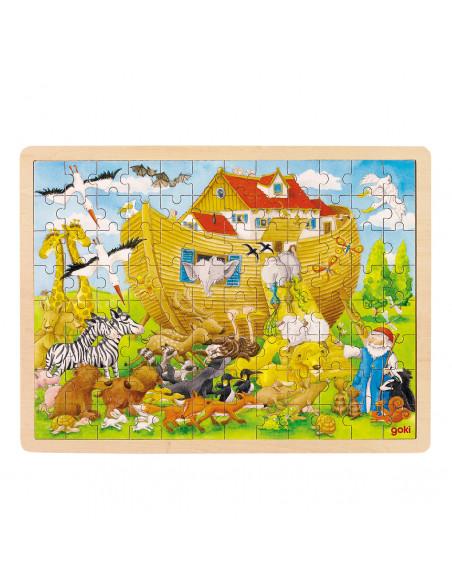 Houten Puzzel Ark van Noach, 96st.